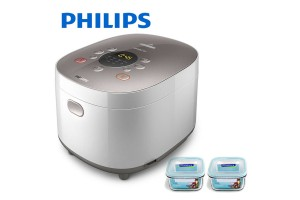 PHILIPS Collection Rice Cooker + Free Glasslock (HD3175/62)