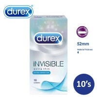 DUREX Invisible Extra Sensitive Condom 10's (3056588)