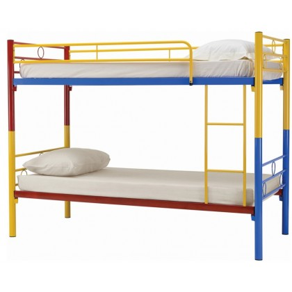 GTE NH Home Colourful Lonway Double Decker Metal Bed (6577055)