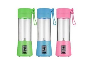 USB Mini Fruit Juicer Protein Shake Ice Smoothie Maker Portable Rechargeable Blender 380ml Juice Cup With Filter