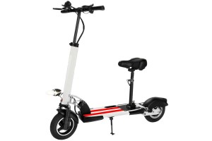 Premium Electric Scooter 350W 36V Foldable And Adjustable Full Suspension Adult Scooter 10 Inch Two-Wheeled Scooter LCD Electric Kick Scooter