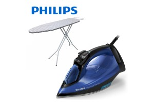 PHILIPS PerfectCare PowerLife Steam Iron Free Ironing Board (GC3920/26)