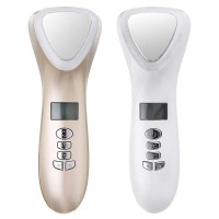Beauty Instrument Facial Massager Firming Care Device Hot And Cold Skin Care Device Hammer Vibration Facial (D002)