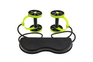 Full Body Training Exercise Muscle Toning Fitness Workout Spring Abs Roller With Adjustable Cord
