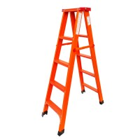 Foldable 5 Steps Lightweight Multipurpose Duty Strong Steel Small Ladder 1.5