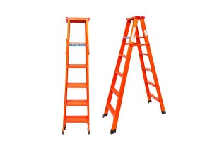 Foldable 6 Steps Lightweight Multipurpose Duty Strong Steel Big Ladder 1.8