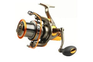 Yumoshi AT9000 Spinning Reel 13+1 Ball Bearings Fishing Reel 9000 Series Boat Rock Fishing Wheel Aluminum CNC Rocker Arm Sea Spinning