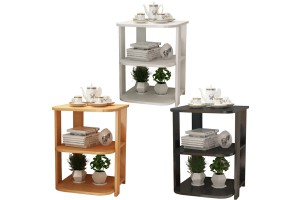 Modern Small Coffee Table Living Room Sofa Side Tea Home Wooden Cabinet Side Table Furniture Bedroom (BT015)