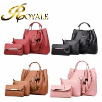 ROYALE 3-In-1 Korean Style Women Fashion Version Of The Multi-piece Women's Handbags Shoulder Diagonal (RYL-220)