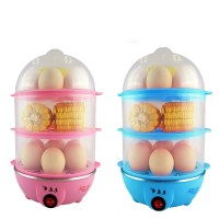Three-layer Egg Cooker Egg Machine Automatic Power Off Steamed Egg A Generation Of Multi-function
