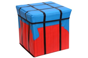 Folding Seat Storage Chair Home Storage Box Battlegrounds Game Airdrop Box Model Container Box