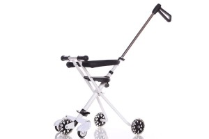 Kids 5 Wheels Magic Stroller Foldable Bike Trolley Safety Fence Wheel
