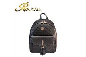ROYALE Women's Backpack For Teenagers Girls Backpack Female Small Diamond Lattice Backpack Women Backpack Bag Mochila Feminina 9182 (RYL-228)