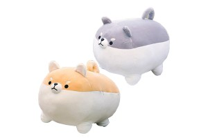 40cm Soft Fleece Textured Japanese Dog Shiba Inu Plush Doll Sleeping Pillow Cotton Stuffed Toy