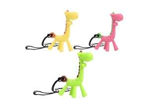 Giraffe Teether Baby molar Stick All Silicone Toys