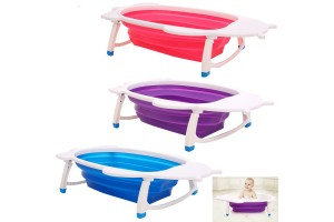 Baby Bathtub Newborn Baby Folding Bathtub Children's Oversized Bathtub