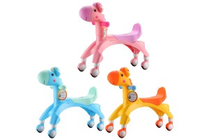 Children Four Wheels Balance Scooter Baby Walker Baby Learning Tools (N145)