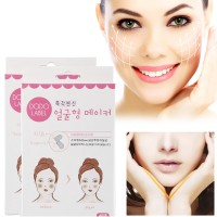 40pcs Face Lift V Sticker Makeup Face Chin Lift Tools Thin Artifact Slim V Shape Face Slimming Patch