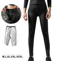 Womens Slimming Pants High Waist Sauna Hot Sweat Thermo Workout Weight Loss Body Shaper With Adjustable Velcro (BK05)