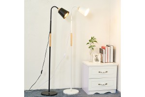 Floor Lamp With Heavy Metal Based Architect Swing Arm Floor Standing Lamp For Living Room Office Bedrooms (N257)