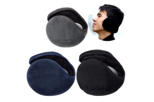1pcs Ear Muffs Cover Muffs Warm Men Rear Earmuffs Winter Accessories For Women Men Cloth Plush Mens Ear Warmers (Random Colour)