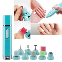 9-In-1 Electric Nail Toenail Drill Grinding Machine Pedicure Multi-functional (BZ-3561)