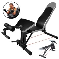 Multifunctional Dumbbell Bench Adjustable Sit Up Exercise Bench For Indoor Use Weight Bench Set Leg Developer Workout Fitness (LHG-1006)