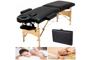 Professional Comfortable Portable Massage Table Massage Bed Facial SPA Therapy Tattoo Beauty Salon Massage Table Bed With Carry Bag