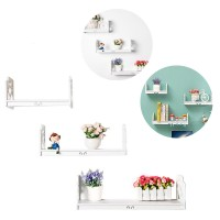 3-In-1 Simple Modern Wall Shelves Cabinet Living Room Bedroom Books Storage Wall Hanging Shelf Goods