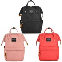 Fashion Shoulder Rucksack Backpack Casual Handbag Women Bag Laptop Tablet Unisex Polyester Canvas Backpack