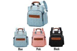 Multi-function Large Capacity Maternal And Babies Package Fashionable Casual Shoulder Bag Mummy Bag Outing Backpack