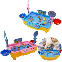 Electric Musical Fishing Paradise 3-6 Years Old Fishing Fun Game (Random Colour)