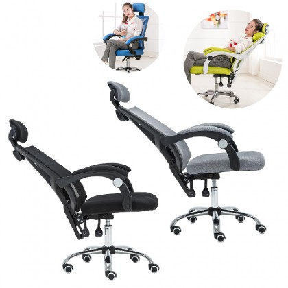 GTE Quality Office Chair Lift Swivel Chair Household Reclining Mesh Chair Staff Member Chair