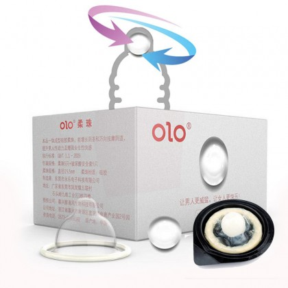 5set OLO Pearl Extension Condom With Hyaluronic Acid Ultra Thin Condoms-Thin Condoms (STM-18847)