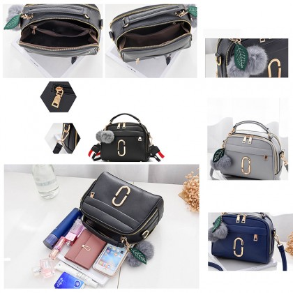 Woman Fashion Casual Soulder Handbag Big Capacity Crossbody Messenger Bag 3 Colors Choose (RYL-282)