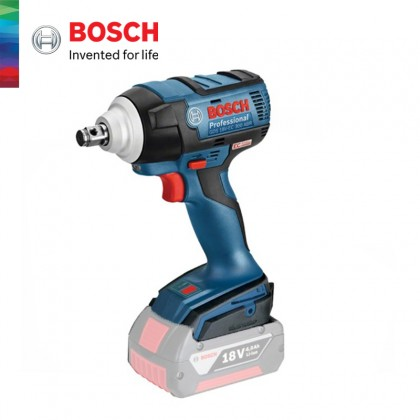 BOSCH GDS 18V-EC 300 ABR SOLO Cordless Impact Wrench (Without Battery & Charger) - 06019DB281