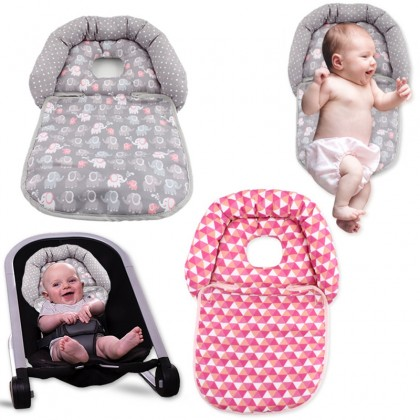 SOZZY Baby Stroller Safety Seat Shaping Luxe Head & Neck Support Pillow Anti-Headrest Pillow