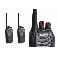 1 Pair (2 Units) BaoFeng BF-888S16 16 Channel Walkie Talkie